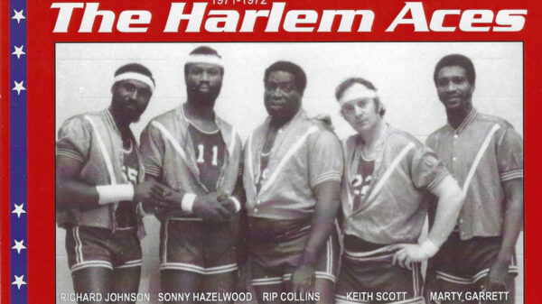 "Keith Scott, ""Canada's Basketball Gypsy"" playing with the Harlem Aces"