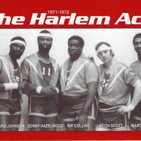"""Keith Scott, """"Canada's Basketball Gypsy"""" playing with the Harlem Aces"""