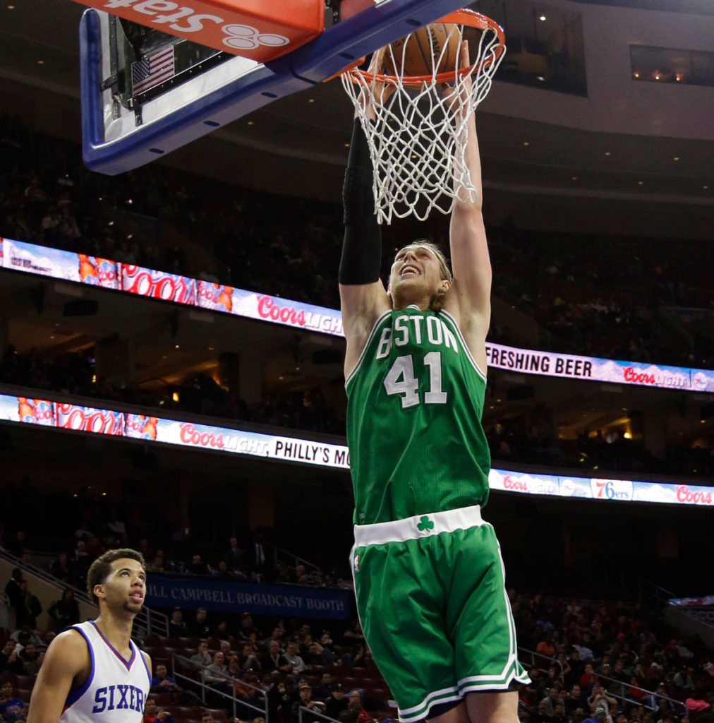 Kelly Olynyk Displays Full Arsenal Drops Career High 30 Points Sixers