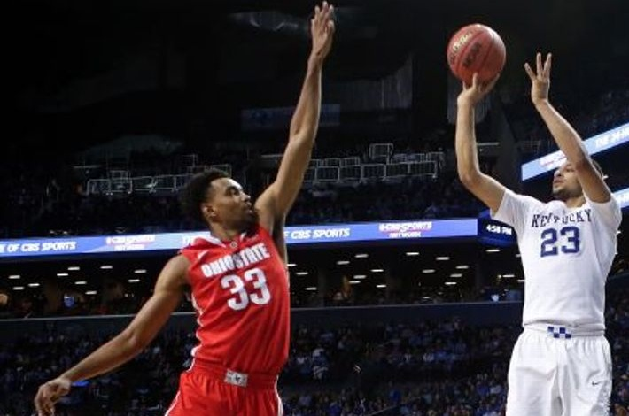 Kentucky's Jamal Murray drills 7 threes for career-high 33 points on Ohio State Buckeyes