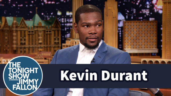 Kevin Durant Hilarious Nba 2k15 Jimmy Fallon Interview