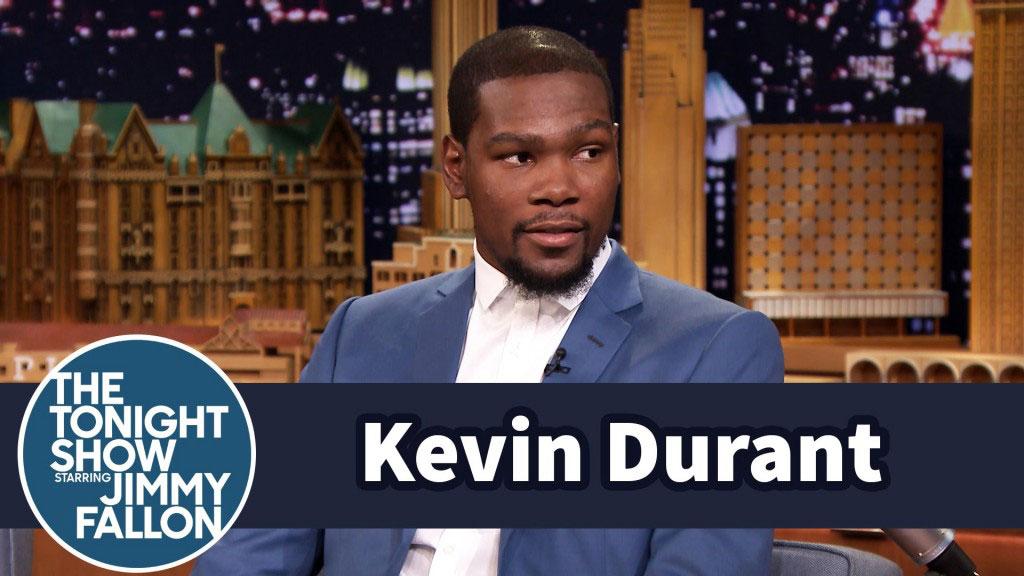 Kevin Durant Hilarious Nba 2k15 Jimmy Fallon Interview