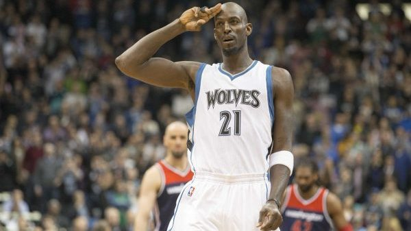 Kevin Garnett Punches His Last Big Ticket