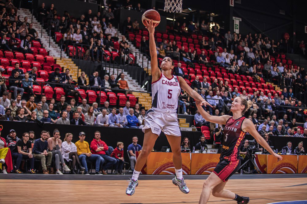 kia nurse canada beats belgium one win away from tokyo 2020