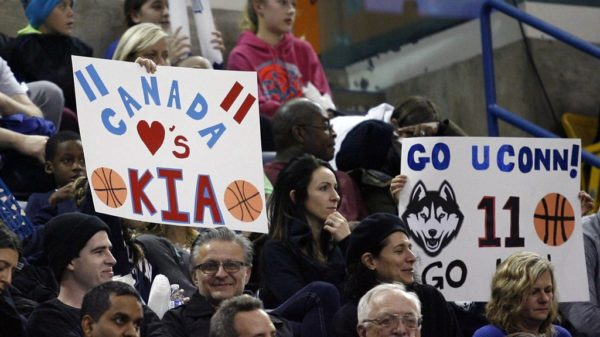 Kia Nurse Legendary Uconn Huskies Canadian Homecoming