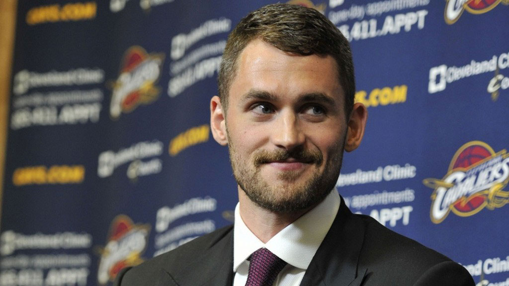 Cleveland Cavaliers Kevin Love Press Conference