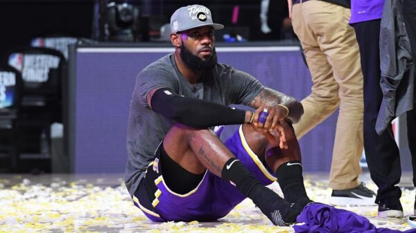 King James Lakers Rule Wild West