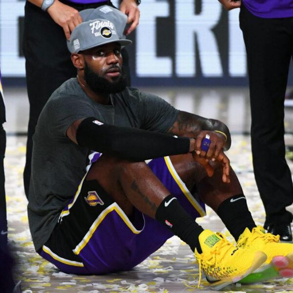King James Lakers Rule Wild West
