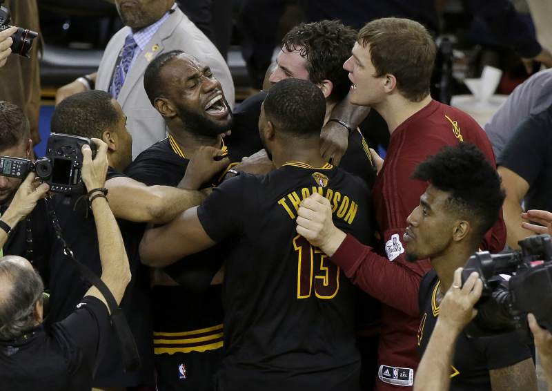 King Lebron Leads Cavaliers Promised Land Win Nba Championship
