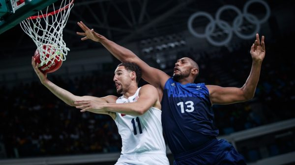Klay Thompson Usa Say Au Revoir France 2016 Olympic Preliminaries