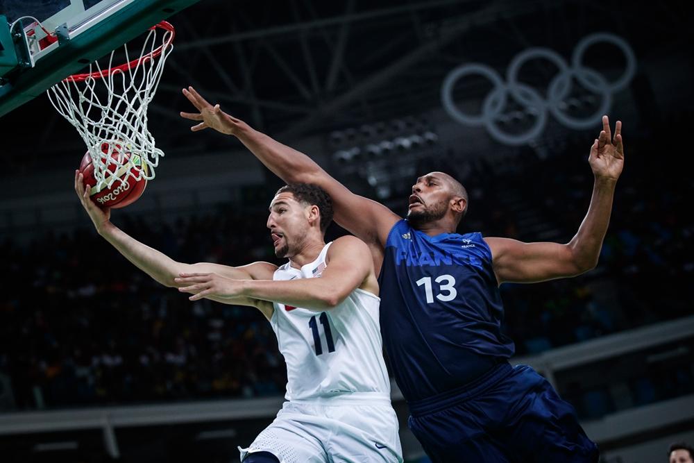 Klay Thompson Usa Say Au Revoir France 2016 Olympic Preliminaries