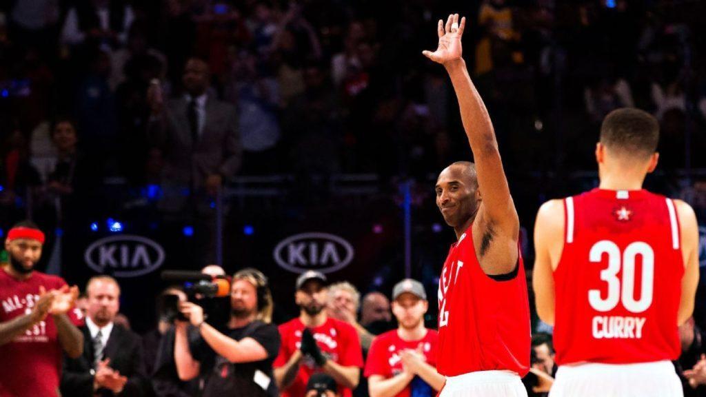 Kobe Bryant Last All Star Game 2016 Nba Star Game Historic Moment Toronto Raptors Canada