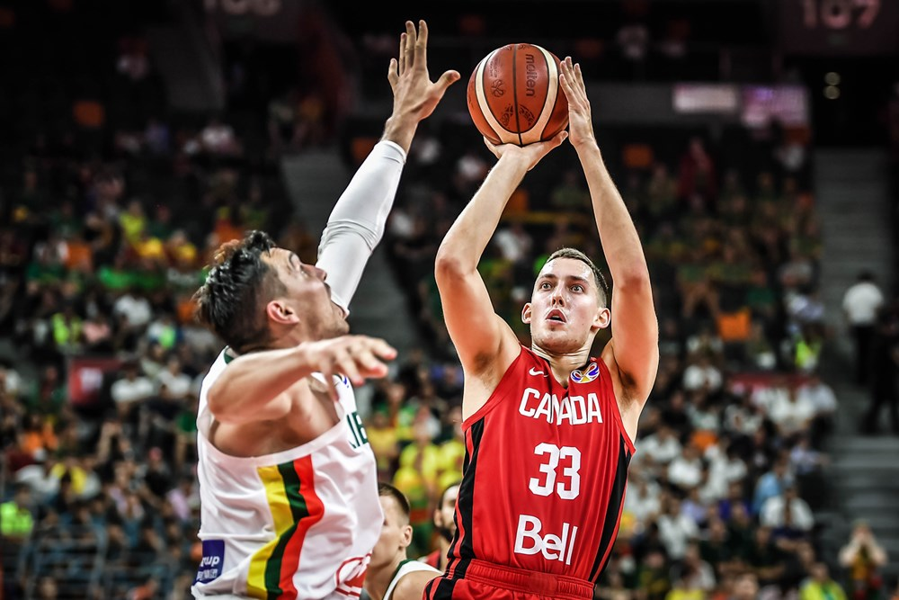Kyle Wiltjer Lithuania Ends Canada Fiba World Cup Dreams