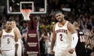 Kyrie Irving drops ridiculous double-nickle (55 points) on Blazers