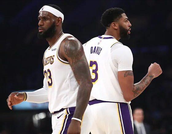 Lakers Licking Warriors All Preseason