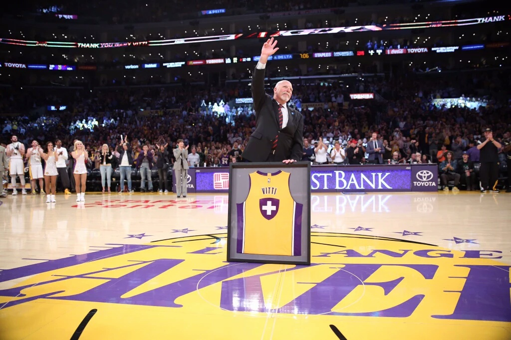 Lakers Pay Tribute To Another Legend Retiring This Season