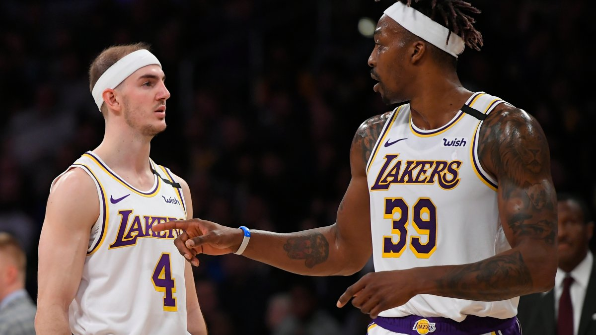 Lakers reunite with old friends say goodbye to a goat