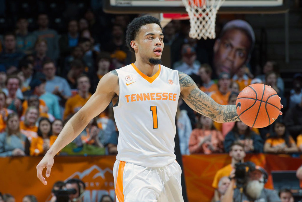 Lamonte Turner Tennessee Volunteers Toronto NCAA Basketball Triple Header