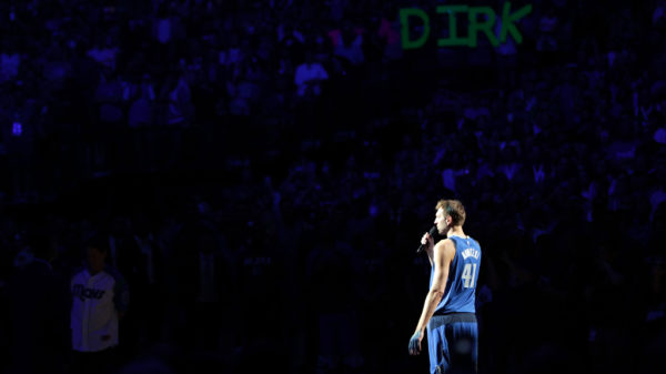 Last Night Was One Last Dance For Dirk Nowitzki Too