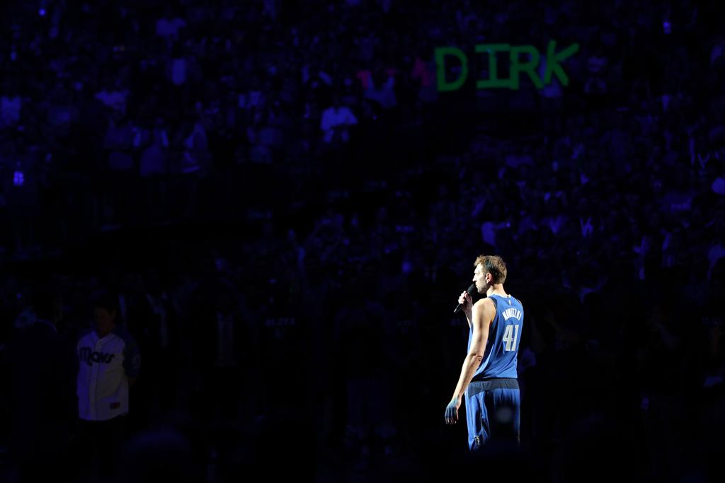 Last Night Was One Last Dance For Dirk Nowitzki Too