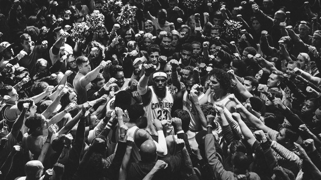 "LeBron James' Cleveland return starts ""Together"" with Nike inspired commercial"