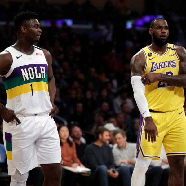 lebron vs zion. A Tale Of Two Cities