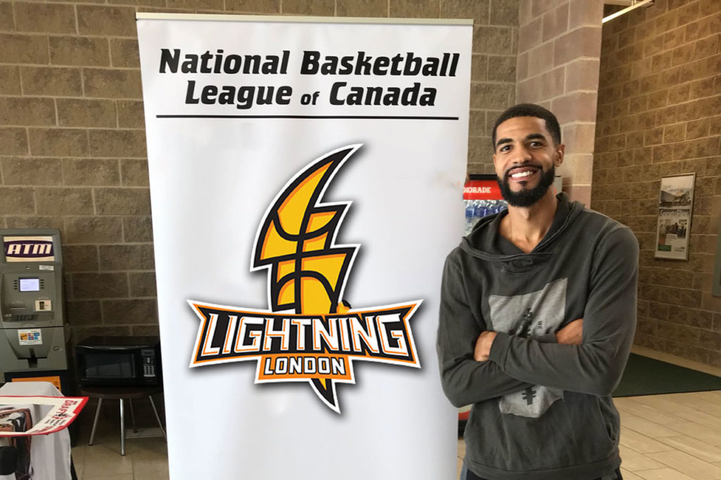 London Lightning guard Charles Boozer lives in his famous brothers shadow