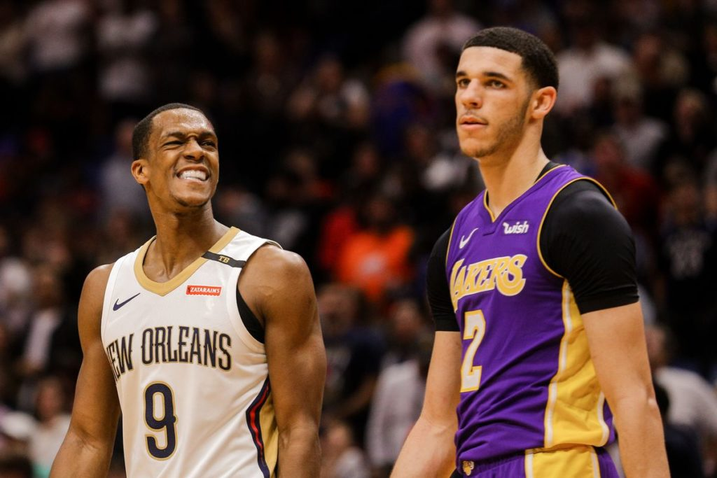 Lonzo/Rondo Rotation Turns Lakers Basketball I.Q. Into A Masterclass