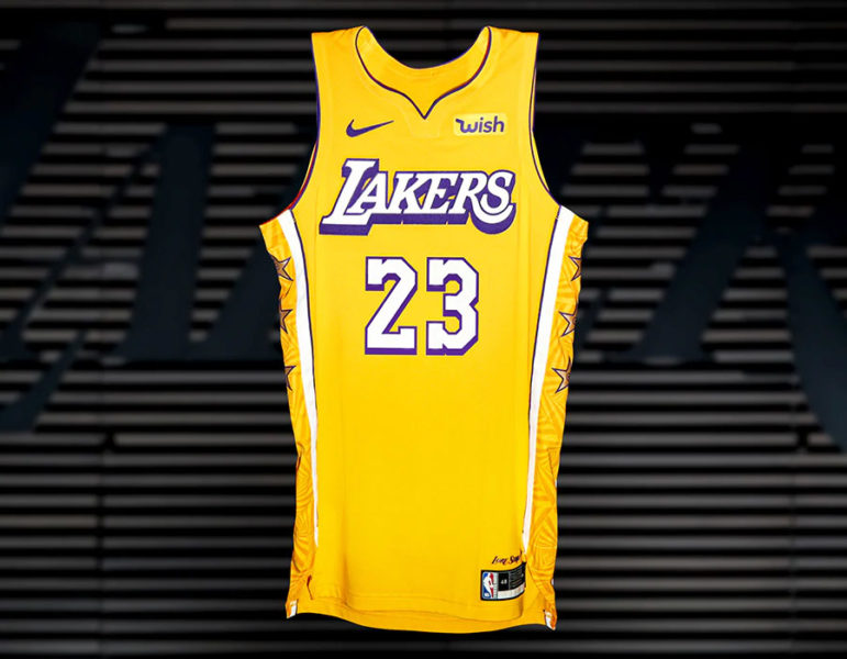 los angeles lakers city edition jerseys 2019 2020