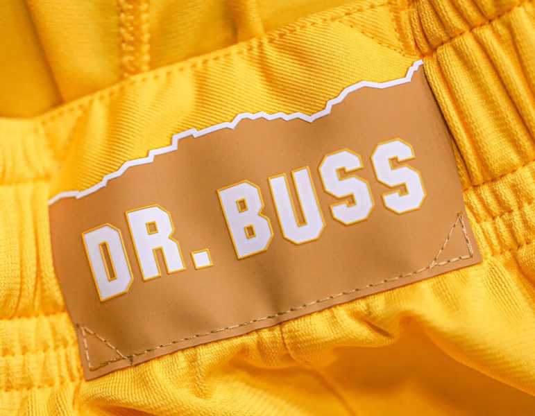 los angeles lakers city edition jerseys dr buss 2019 2020
