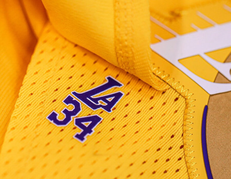 los angeles lakers city edition jerseys shaquille oneal 2019 2020