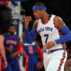 'Melo, Knicks Put The Breaks On The Pistons & Four Game Slide