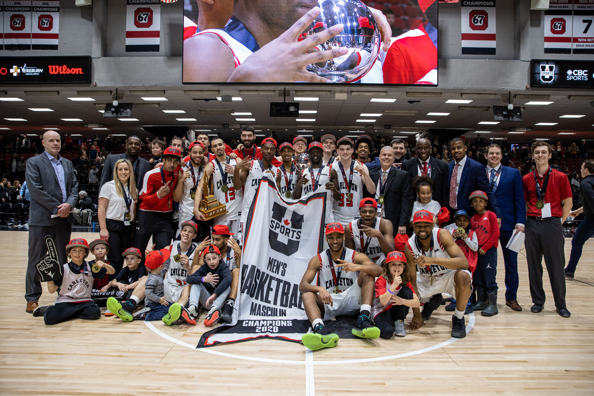 Mighty Carleton Ravens win improbable 15th U Sports basketball title