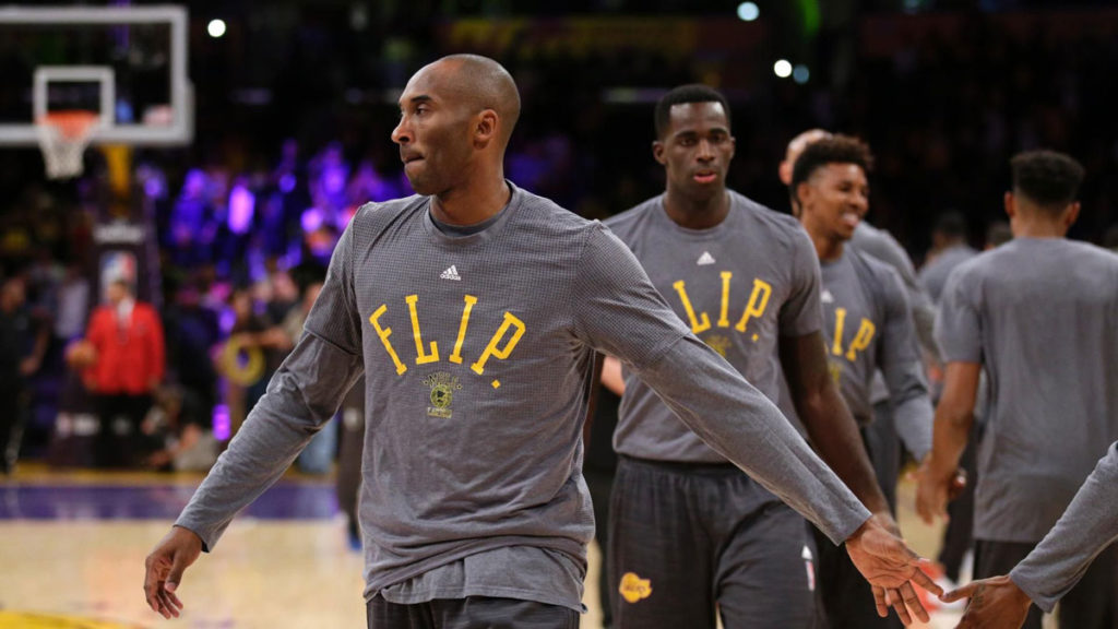 Minnesota Lakers Pay Tribute To Flip With Shooting Shirts
