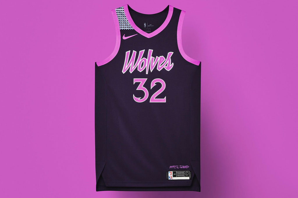 online store 3416f 5c081 Minnesota's New Nike 'City Edition' Jerseys Rain In Prince ...