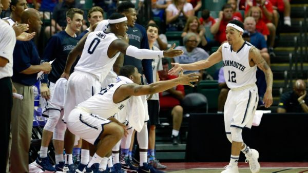 Monmouth Hawks bench delivers hilarious choreographed celebrations