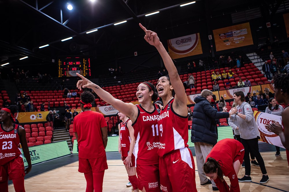 natalie achonwa miranda ayim point to tokyo 2020 beat sweden at 2020 fiba olympic qualifying tournament