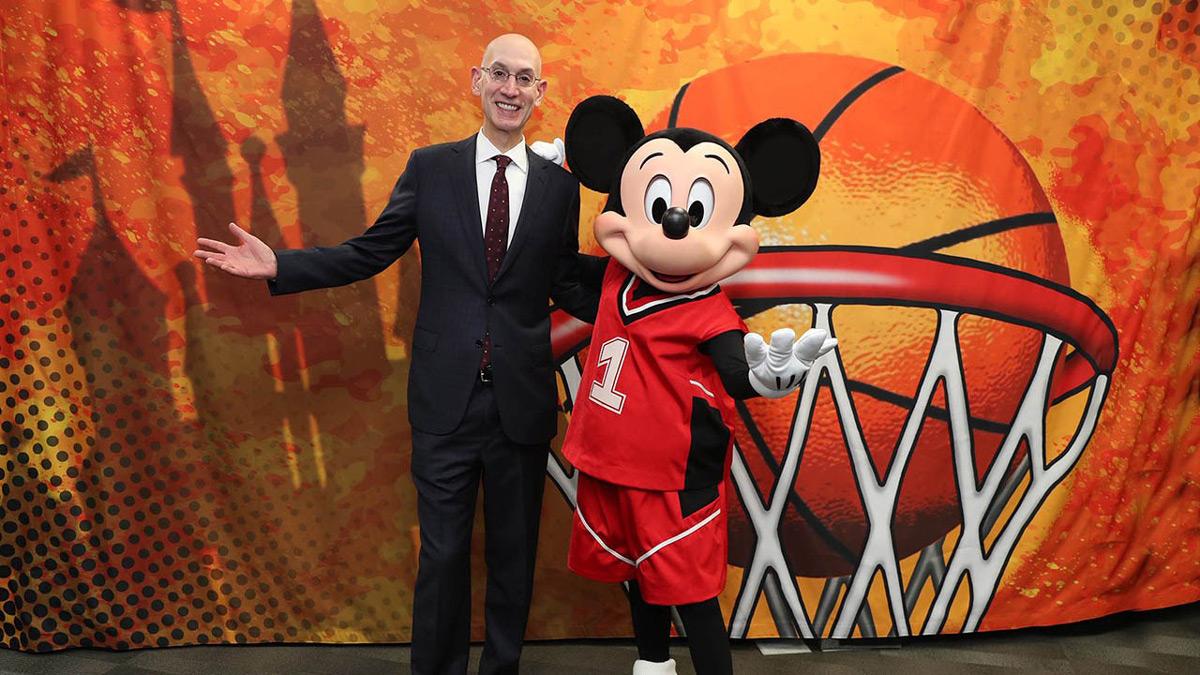 NBA Basketball Heading To Disney World
