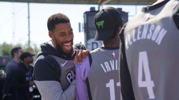 Nets Practice In The Park Statement Spreads Love The BKLYN Way