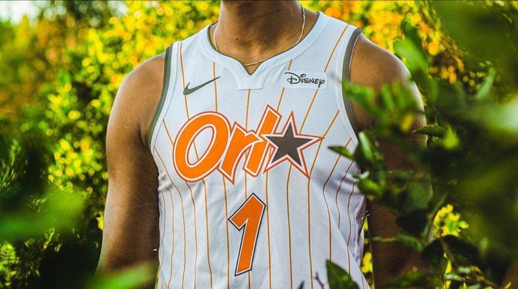 New Florida Orange Orlando Jerseys Are Magic