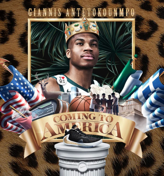 New Nike Giannis Antetokounmpo Sneakers Are Coming To America Poster