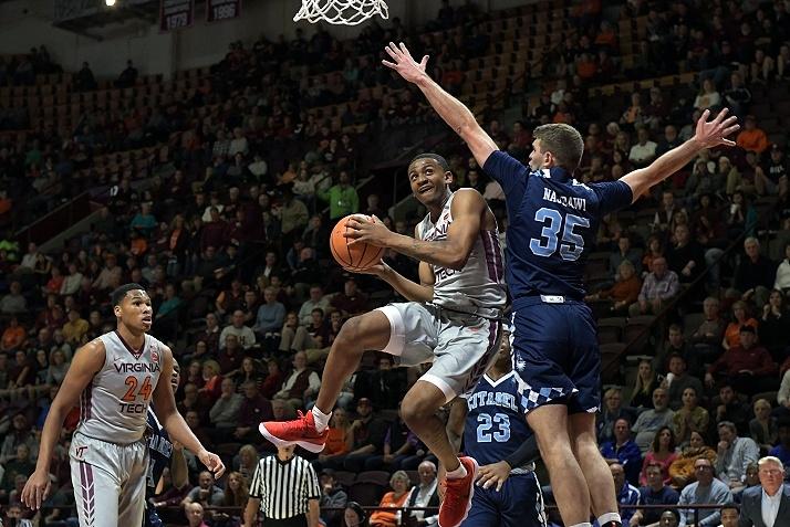 Nickeil Alexander Walker Virginia Tech Hookies New Wave Canadian NCAA Freshmen