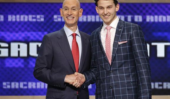 Nik Stauskas selected eight overall by the Sacramento Kings
