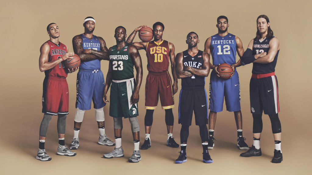 Nike Marches Ncaa Madness Taking Nba Stars Back School