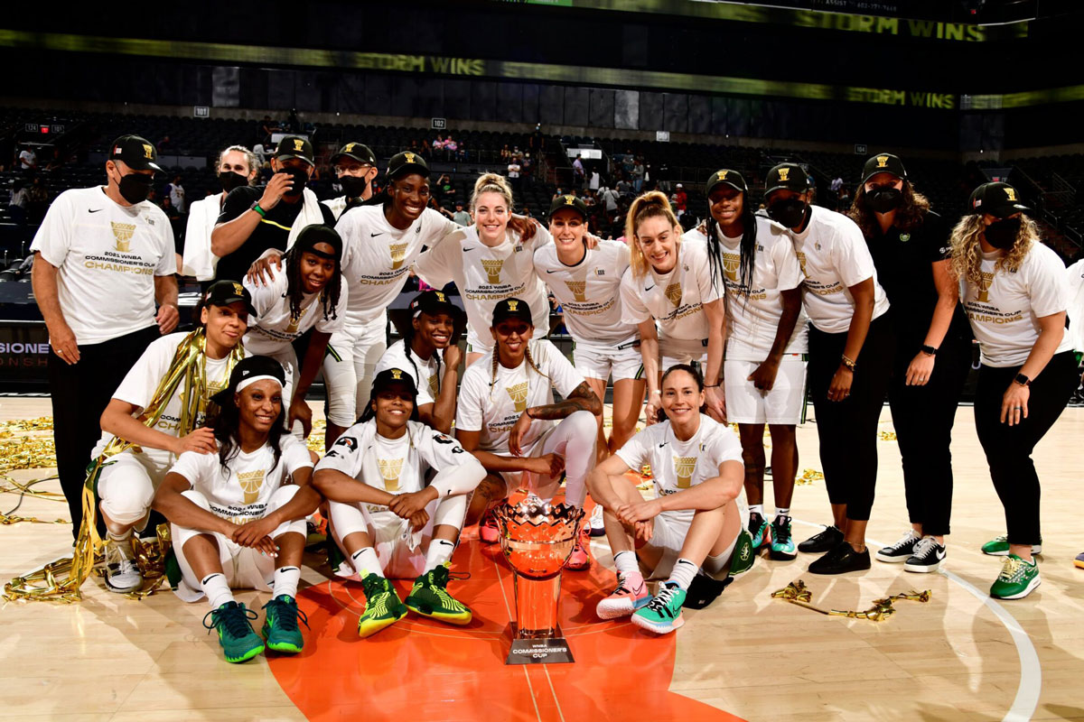 No chance of sun as seattle storm reign in wnbas first ever commissioners cup