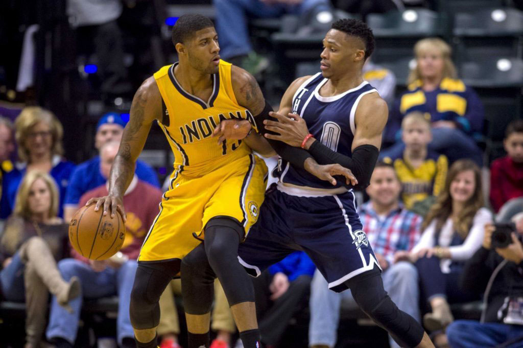 No Show Paul George Strikes Deal Thunder