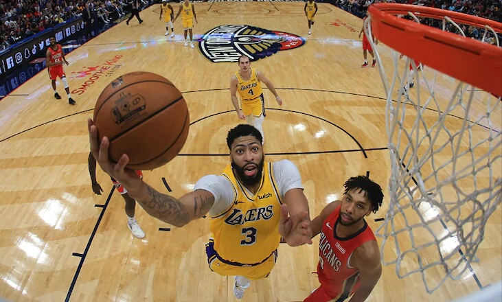 nola clap anthony davis wins hard fought return to the big easy