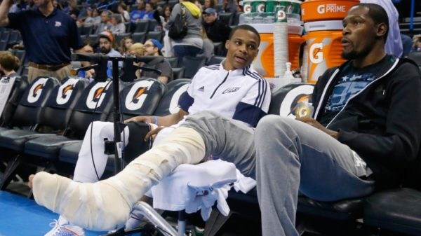 OKC's KD…From MVP TO DNP