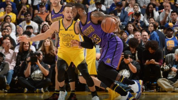 On Christmas Day, Lakers Deck The Warriors With Balls Of Hollywood