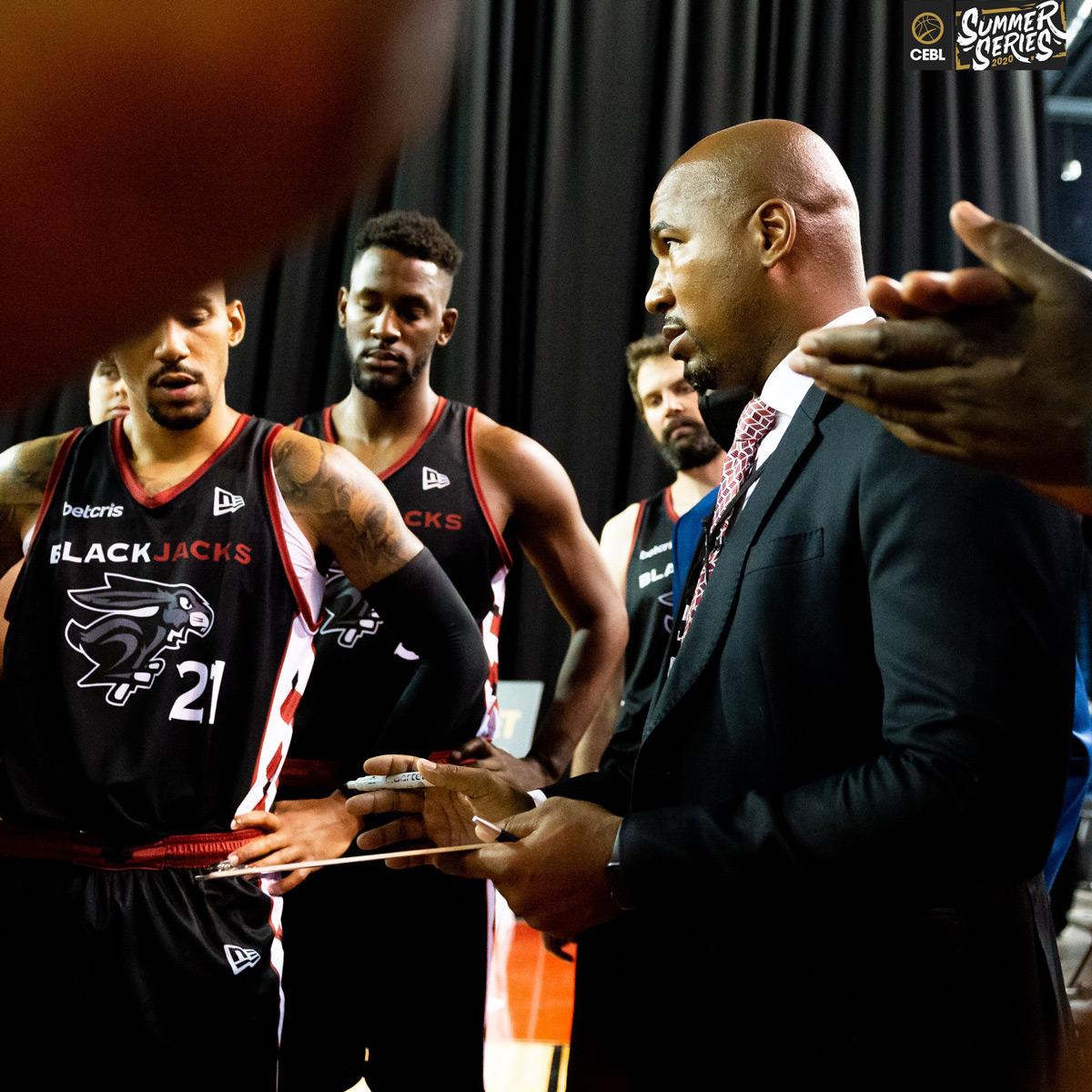 Ottawa Blackjacks Head Coach Osvaldo Jeanty Giving Out Instructions
